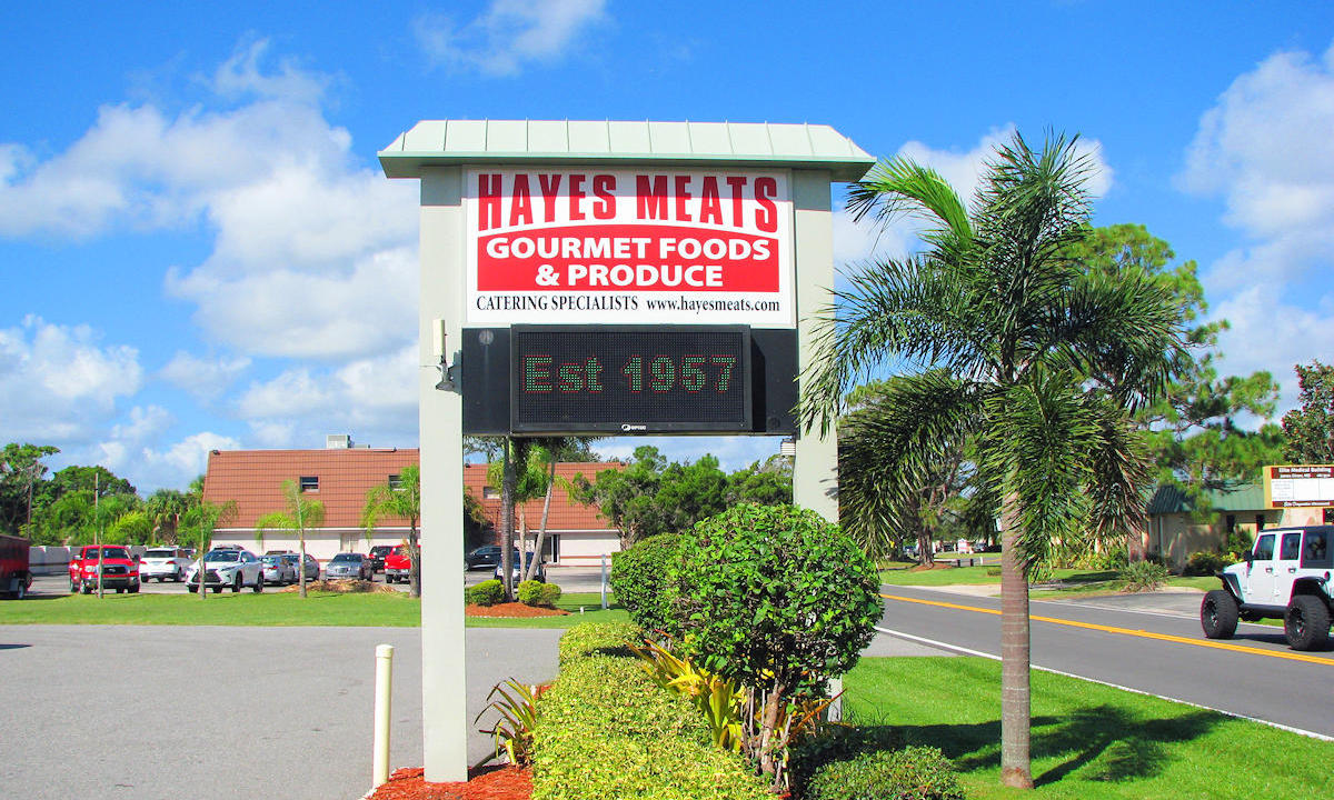 Hayes Meats Established in 1957