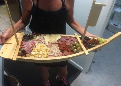 Meat-platter-sushi-boat