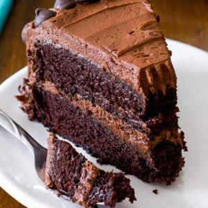 Triple Sinful Chocolate Cake