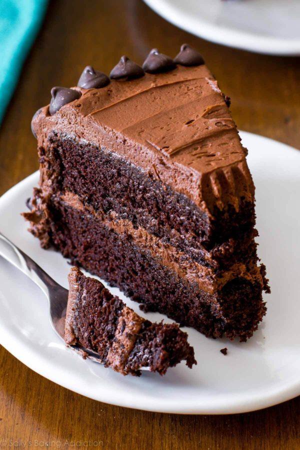 Triple Sinful Chocolate Cake